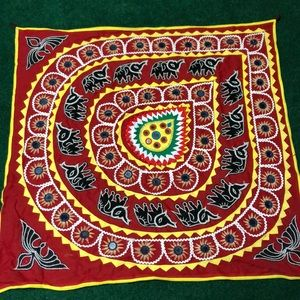 threaded indian tapestry